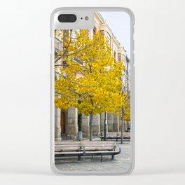Autum Clear iPhone Case