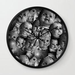 Creepy baby Wall Clock