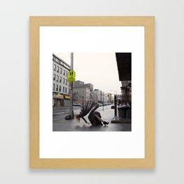 Fragmentation of the Self (2014) Framed Art Print