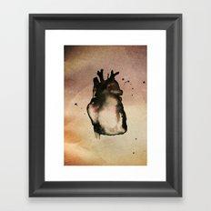 On love, Framed Art Print