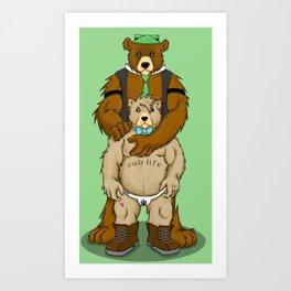 Cub Life Art Print