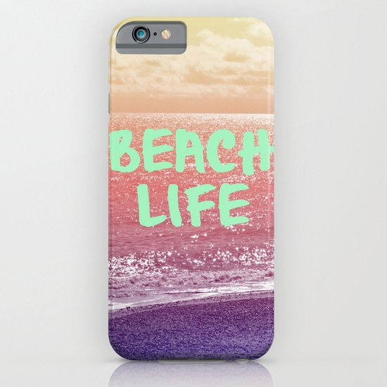 Beach Life iPhone & iPod Case