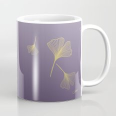 Ginkgo Purple Gold Coffee Mug