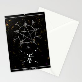 A Tarot of Ink 10 of Pentacles Stationery Cards