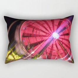 Spinning Your Wheels the ferris wheel carnival ride Rectangular Pillow