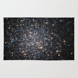 Glittery Starburst Rug