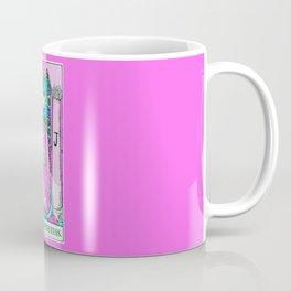2. The High Priestess- Neon Dreams Tarot Coffee Mug