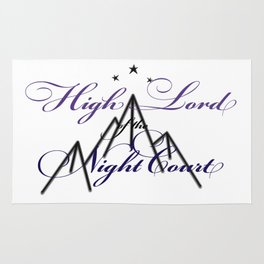 HIGH LORD OF THE NIGHT COURT inspired Rug