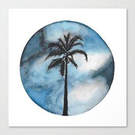 Blue Beach Canvas Print