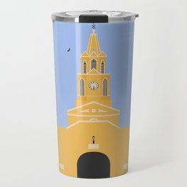 Cartagena, Colombia | Ciudad Amurallada - Walled City Clock Tower Gate Entrance Travel Mug