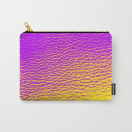 Purple Yellow Gradient Carry-All Pouch