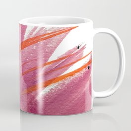 Tigerlily: a vibrant, colorful, watercolor piece in pink, purple, orange, and reds Coffee Mug