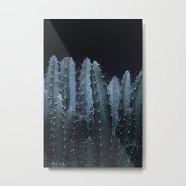 DARK PLANTS - CACTUS Metal Print