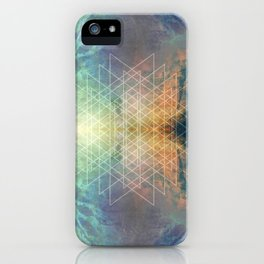 ABSTRACTION NO7 iPhone Case