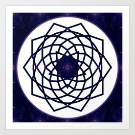 Pure Bliss Abstract Chakra Art Art Print
