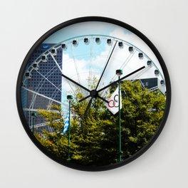 Atlanta Ferris Wheel Wall Clock