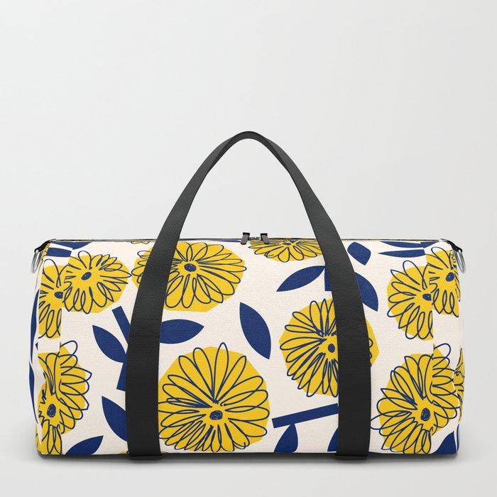 Floral_blossom Duffle Bag
