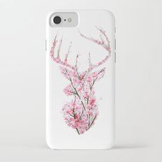 Cherry Blossom Deer iPhone 7 Slim Case