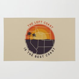 Left Coast is the Best Coast Rug