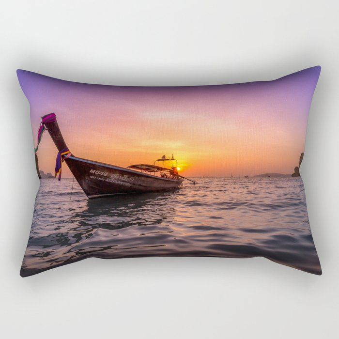 Longtail Sunset Rectangular Pillow