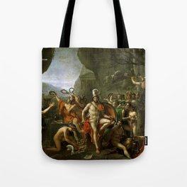 Leonidas at Thermopylai  Tote Bag