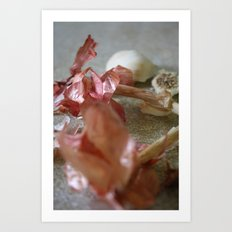 Garlic Scape Art Print