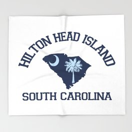 Hilton Head Island - South Carolina. Throw Blanket