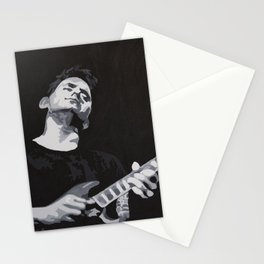 Grayscale John Mayer Stationery Cards