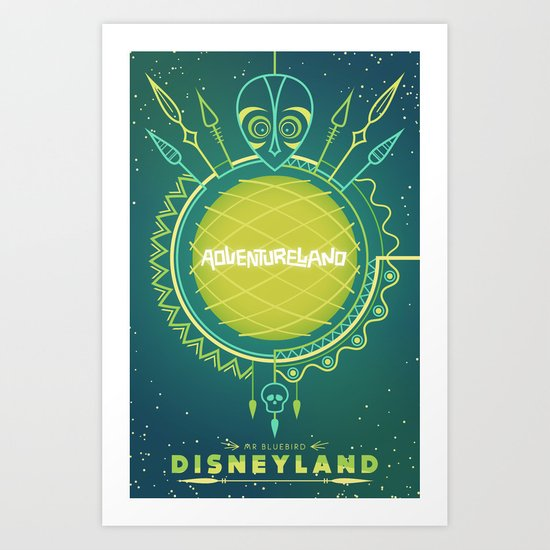 Adventureland Art Print