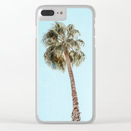 Single Palm Clear iPhone Case