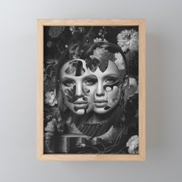 Your Facade Can't Disguise Framed Mini Art Print