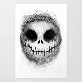 Bone Daddy aka Jack Art Print