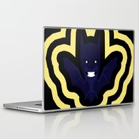 bat Laptop & iPad Skins featuring bat by Nir P