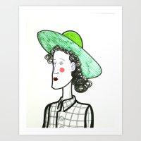 Laidy Art Print