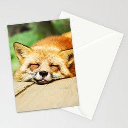 Cutie Foxy Nappy Stationery Cards
