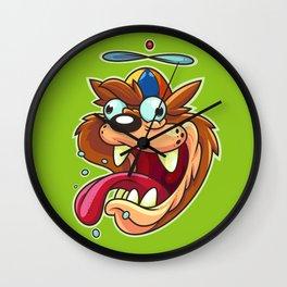 Derpy Devil Wall Clock
