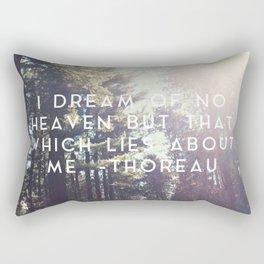 Heaven Lies About Me Rectangular Pillow
