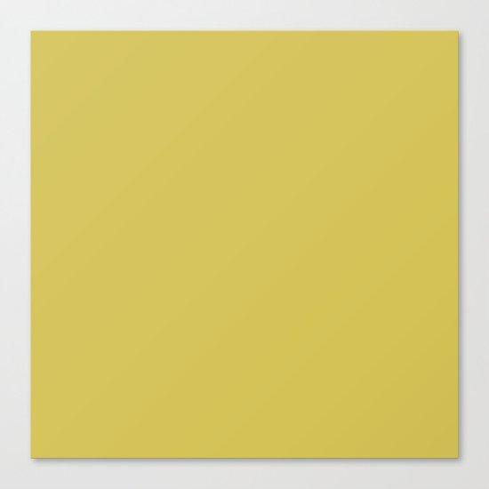 Simply Mod Yellow Canvas Print