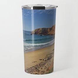Amado beach, Portugal Travel Mug