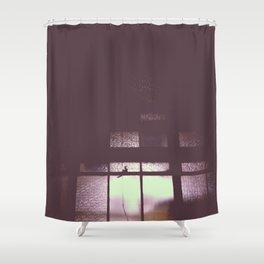 night window Shower Curtain