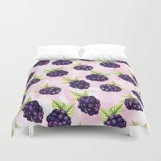 Blackberries Duvet Cover