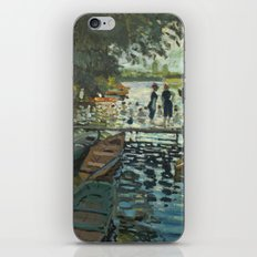 Bathers at La Grenouillere by Claude Monet iPhone & iPod Skin
