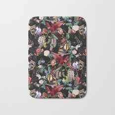 Floral and Birds IX Bath Mat