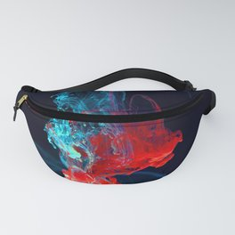 Interesting Glowing Vibrant Tropical Sea Plants Fanny Pack