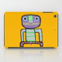 pee wee iPad Cases featuring I want to pee! by Rudolf Brancovsky