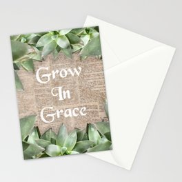 Grow In Grace pg Stationery Cards