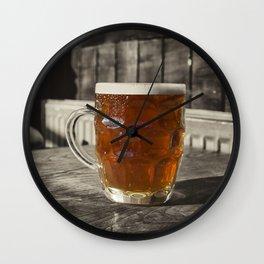Pint in a Jug  Wall Clock