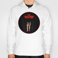 rocky horror picture show Hoodies featuring RHPS by Zombie Rust