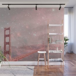 Stardust Covering San Francisco Wall Mural