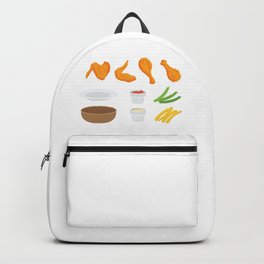 Wings and Dips Backpack